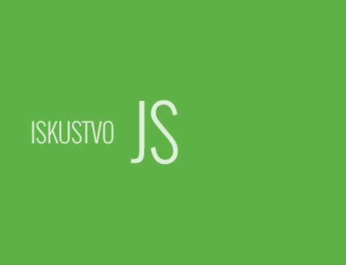 Iskusan JavaScript Developer. Stvarno iskusan