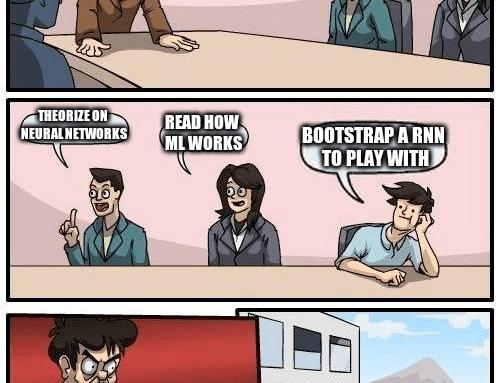 Bootstrap Karpathy RNN