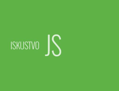 Iskusan JavaScript Developer. Stvarno iskusan