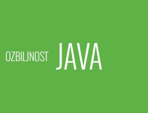Ozbiljan Java Developer