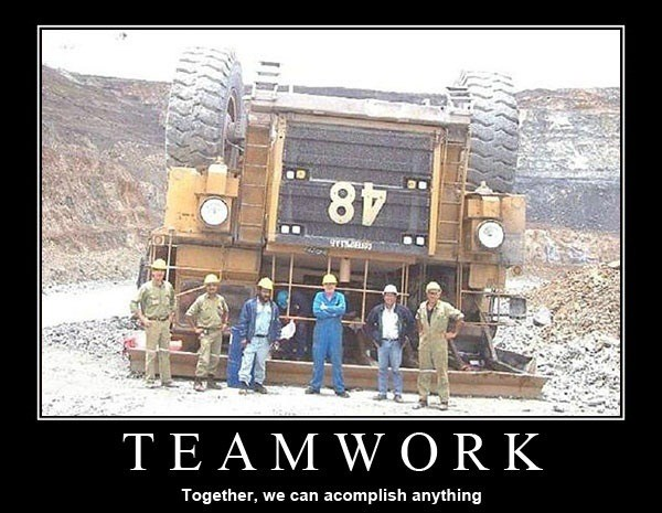 Funny Memes about Teamwork 1