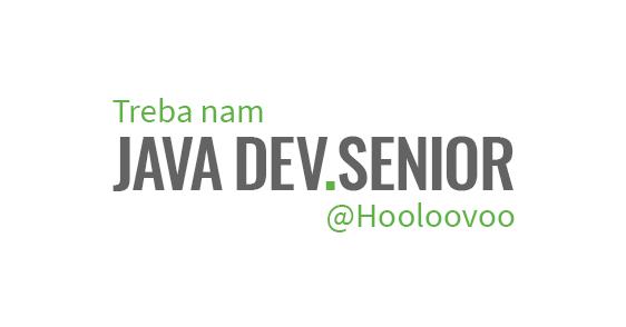 Treba nam Java Dev. Senior