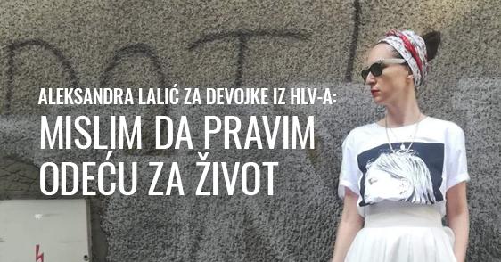 Aleksandra Lalić i Lalica u HOOLOOVOO-u!