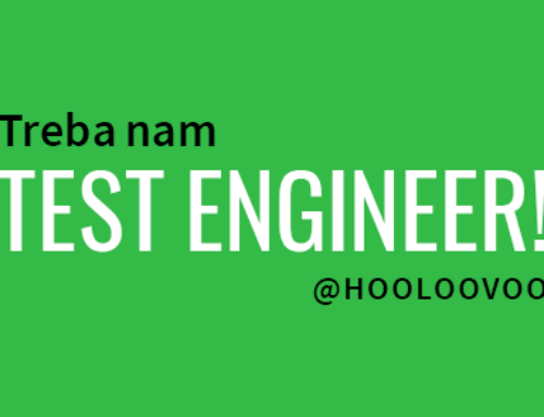 Treba nam Test Engineer!