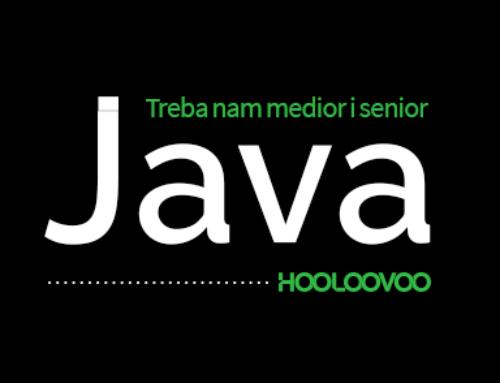 Treba nam Java – Medior i Senior!