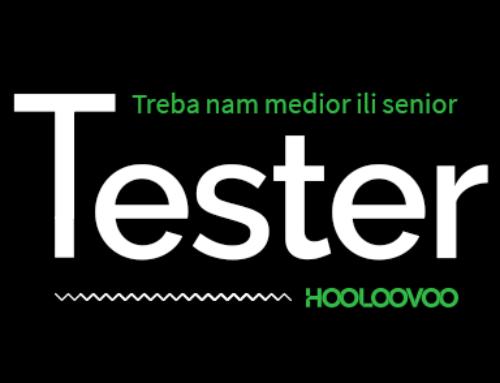 Treba nam tester – Medior ili Senior!