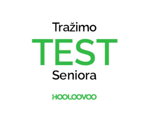 Tražimo Test Seniora!